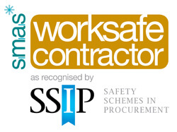 SMAS Worksafe Contractor as recognised by the SSIP