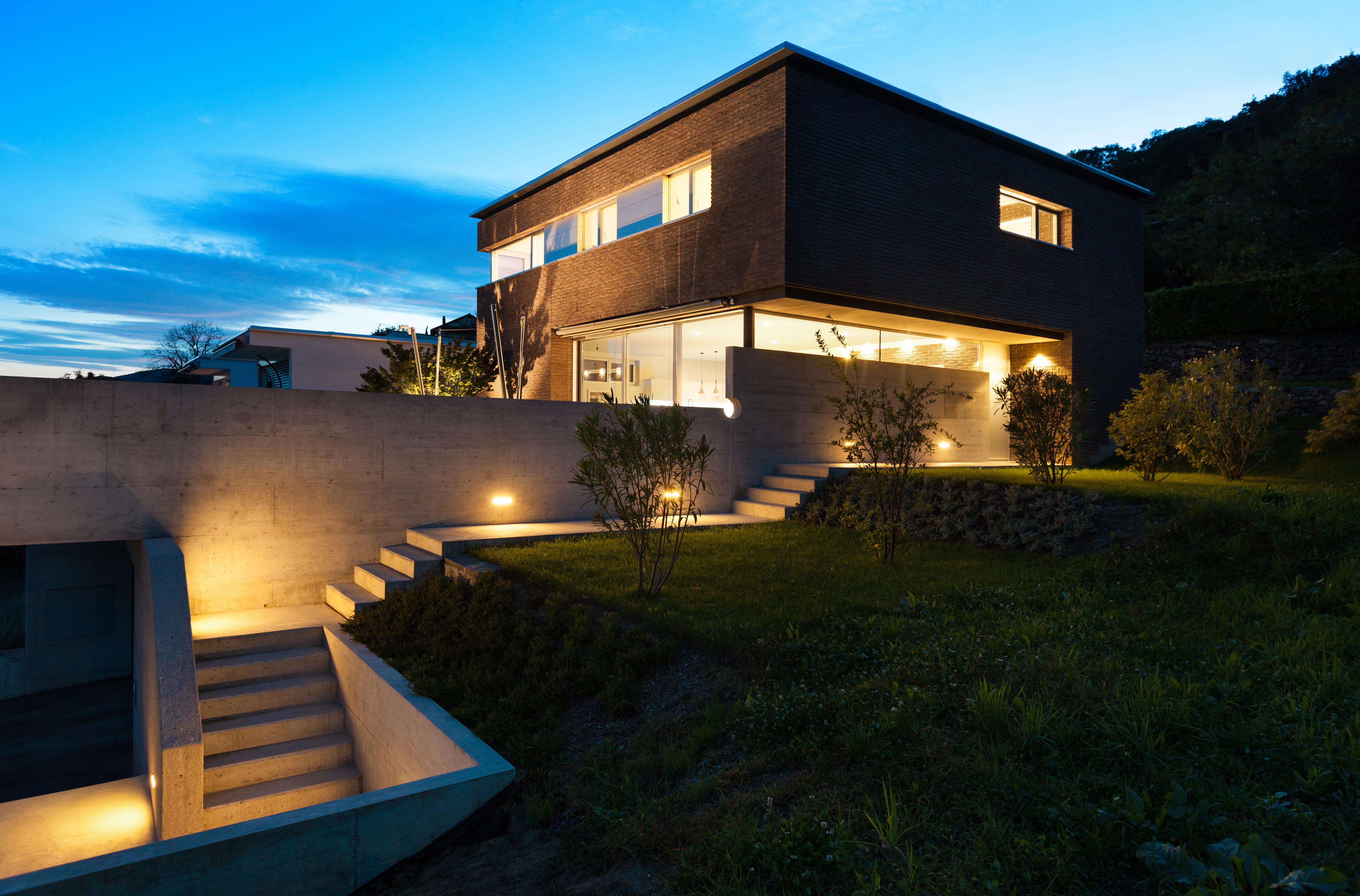 Kent garden lighting design p a hollingworth electrical contractors